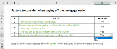 Mortgage Payoff Calculator with Extra Payment (Free Excel Template)