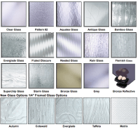 Framed Glass Door Options - Excel Glass and Granite ...