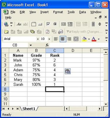 Rank Formula in Excel Excel Hints - creating formulas in excel