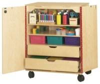 SUPPLY CABINET - daycare playground equipment - Excellent4Kids