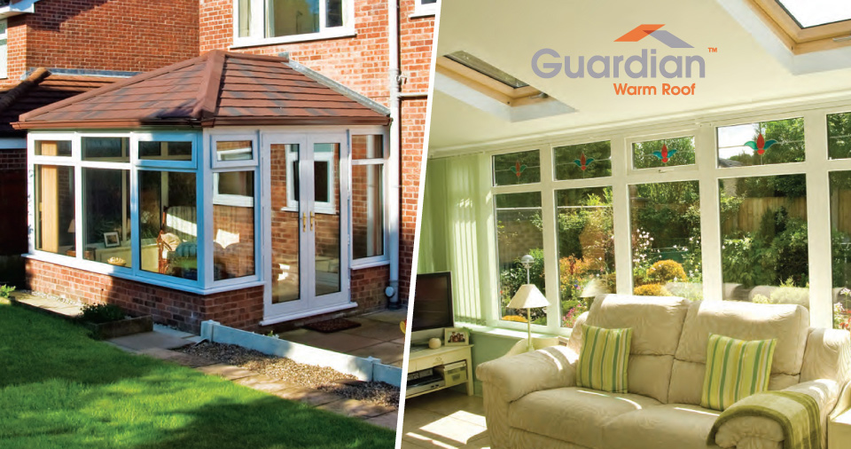 Guardian Warm Roof Fitted I North Tyneside, Newcastle, North East UK