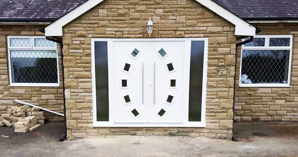 Double Composite Doors available to buy or fitted in Nothumberland and Tyne & Wear
