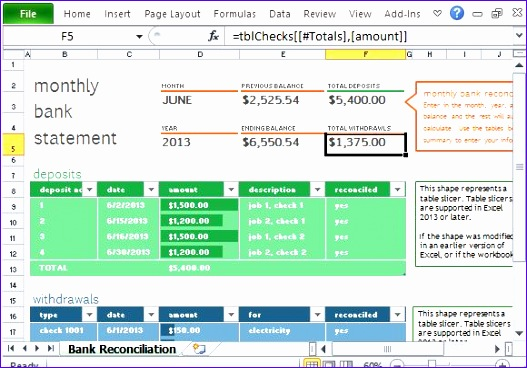 Account Reconciliation Template - Costumepartyrun - account reconciliation template