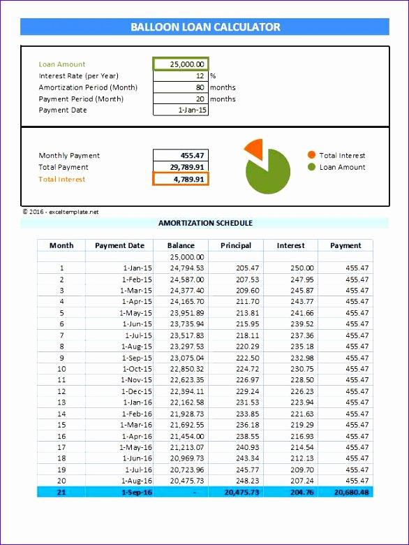Car Loan Excel Template Tseeu Elegant Loan Amortization with