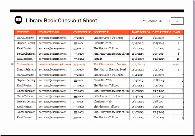 Excel Inventory Sheets Templates Aascs Best Of Library Book Checkout