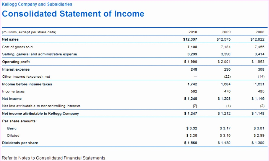 Financial Statement Effects Template Cfcpoland
