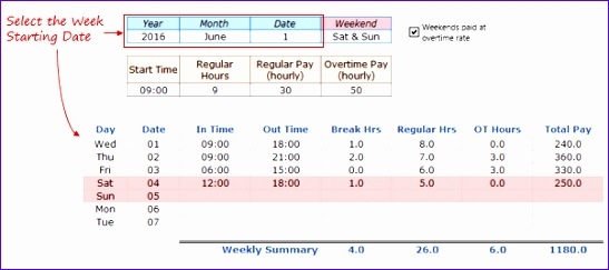 10 Monthly Timesheet Template Excel Free Download - ExcelTemplates