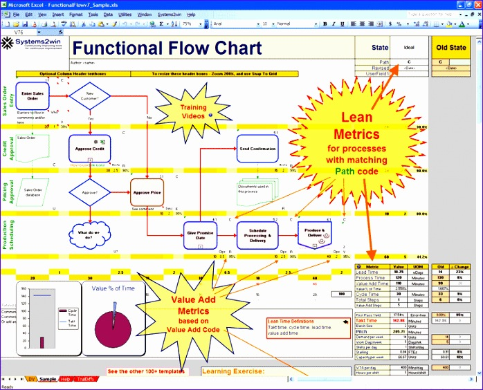 8 Process Mapping Templates In Excel - ExcelTemplates - ExcelTemplates - process map excel template