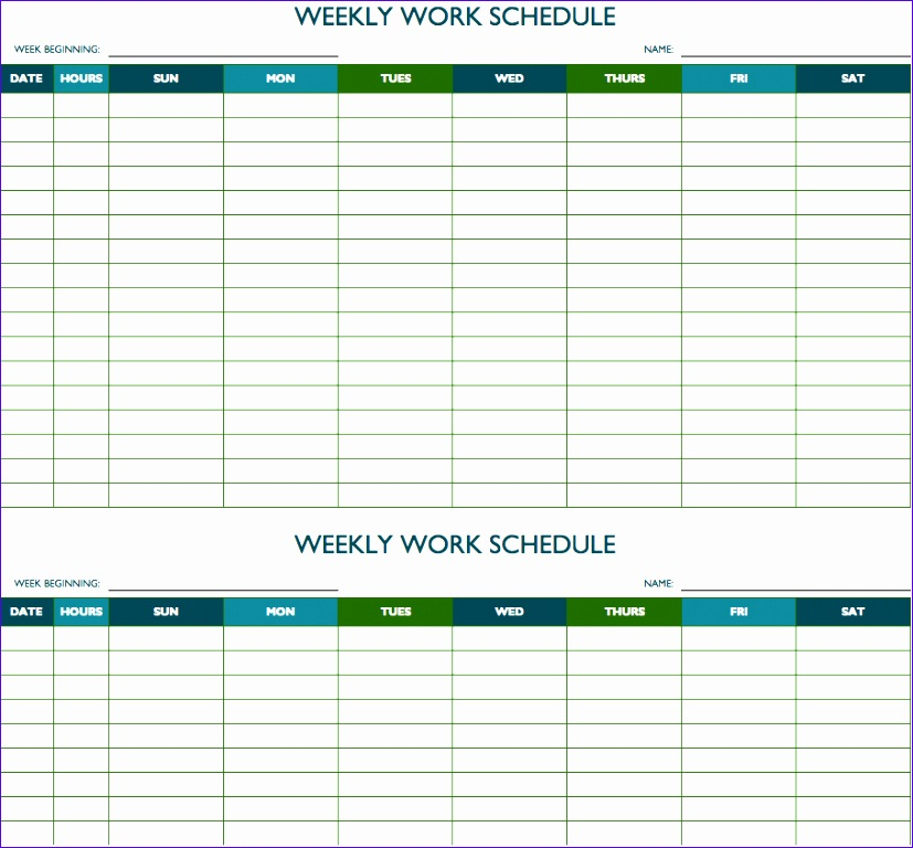 12 Study Schedule Template Excel - ExcelTemplates - ExcelTemplates - weekly study schedule