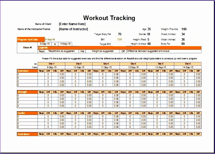 Work Out Schedule Templates ophion - college schedule template