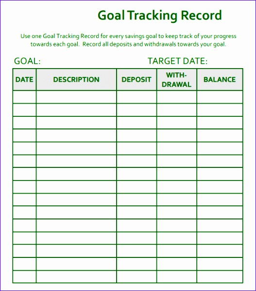 Student attendance Sheet Template Excel Idlmk Inspirational Sample - sample goal tracking