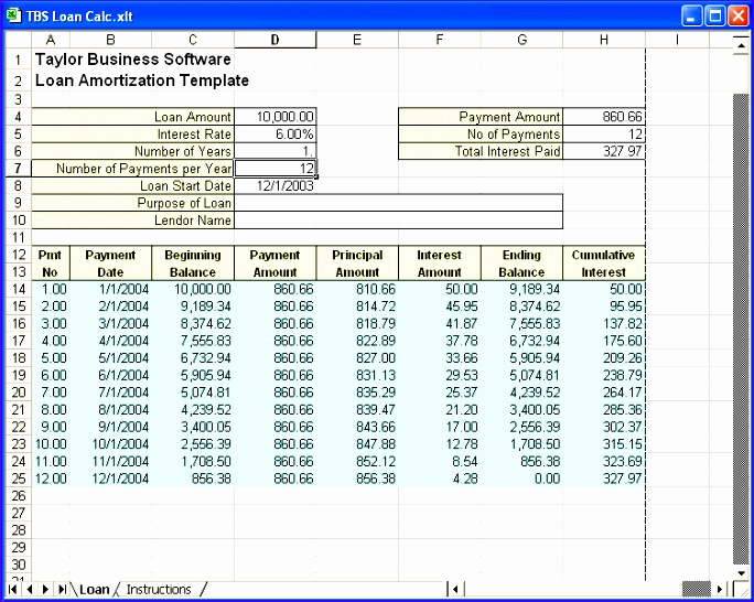 8 Amortization Schedule Excel Template - ExcelTemplates - ExcelTemplates - amortization excel
