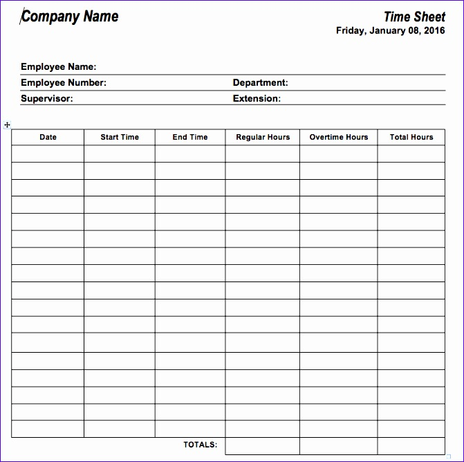 11 Bi Weekly Timesheet Template Excel - ExcelTemplates - ExcelTemplates