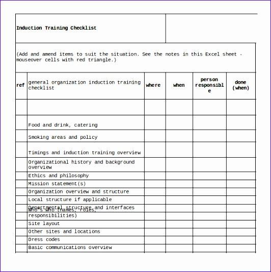 10 Checklist Template Excel - ExcelTemplates - ExcelTemplates