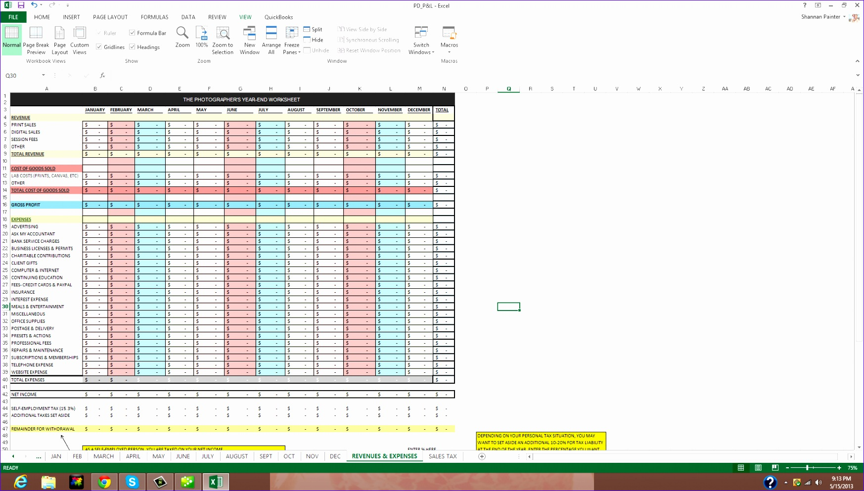 customer database format in excel