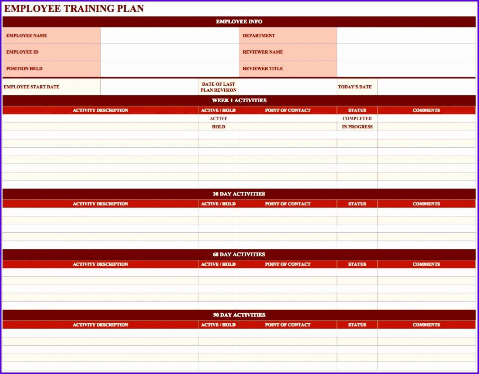 8 Contact Excel Template - ExcelTemplates - ExcelTemplates - point of contact template