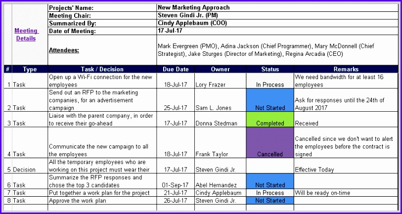 Examples Minutes Of Meeting Template Excel Xuymc Best Of Meeting - minutes of meeting template free download