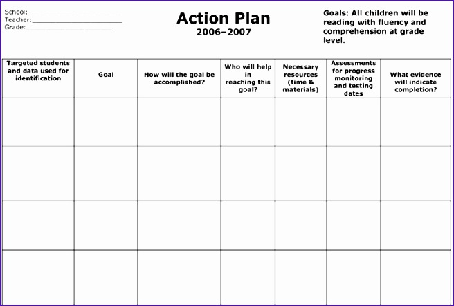 Excel Action Plan Template Xhhmk Luxury Marketing Action Plan - marketing action plan template
