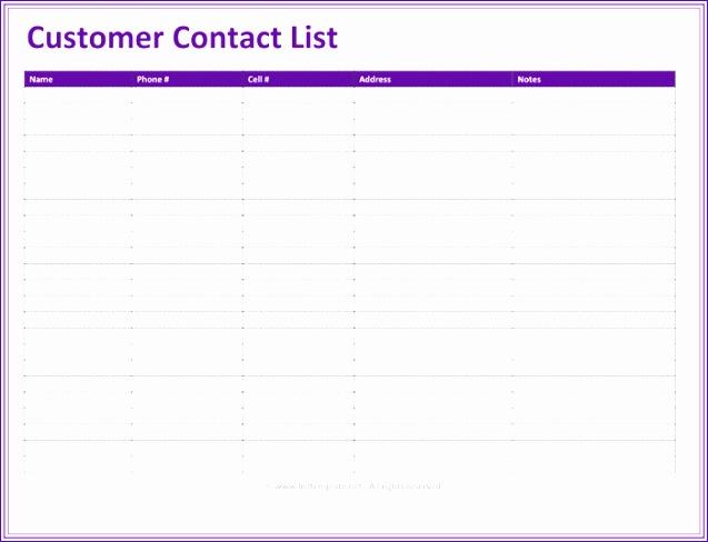 12 Excel Address List Template - ExcelTemplates - ExcelTemplates