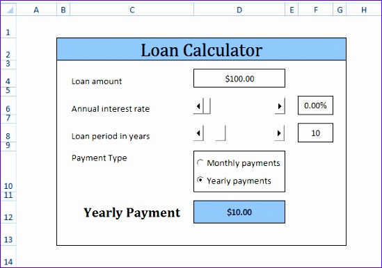 10 Excel Mortgage Calculator Template - ExcelTemplates - ExcelTemplates