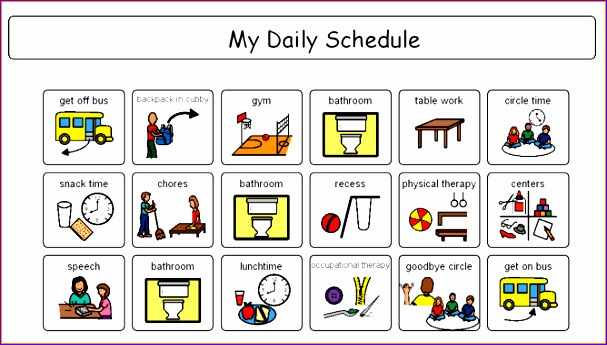 Excel Template Weekly Planner Eidds Beautiful 4 Daily Schedule Maker