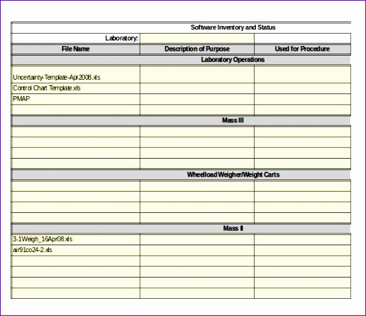 It Inventory Template | Server Inventory Template Excel It Hardware Inventory Spreadsheet