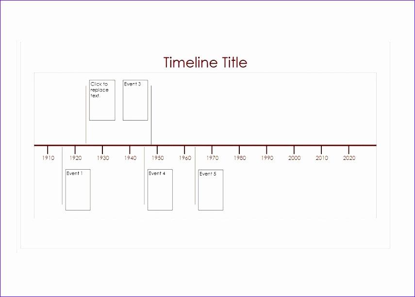 6 Excel Timeline Templates Exceltemplates Exceltemplates