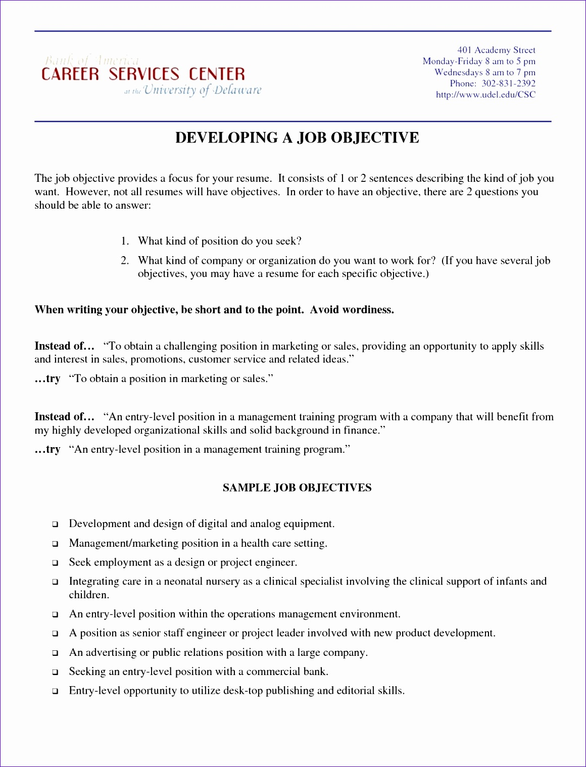 examples of simple work resumes