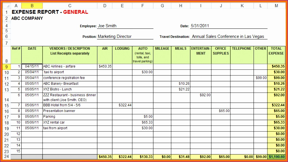 11 Free Travel Itinerary Template Excel - ExcelTemplates