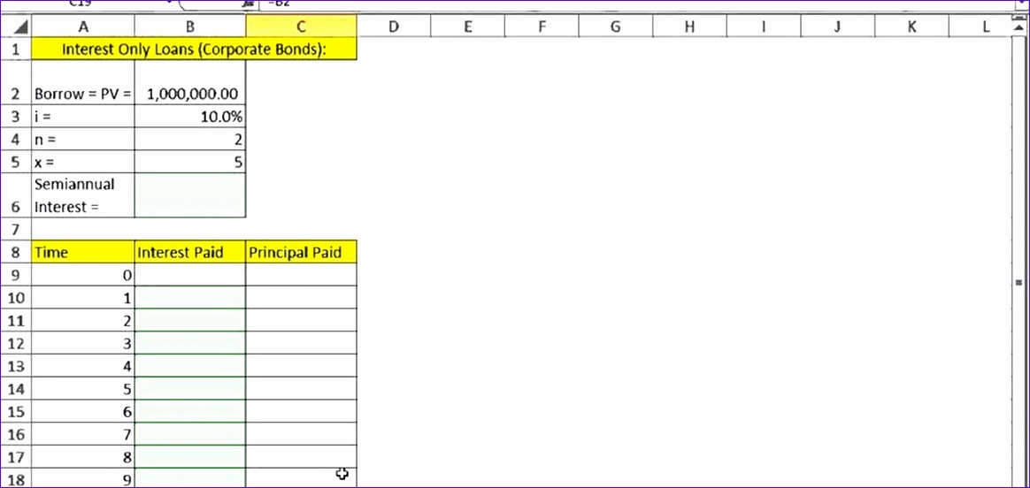 Job Sheet Template Excel Yh2nln Luxury How to Create An Interest