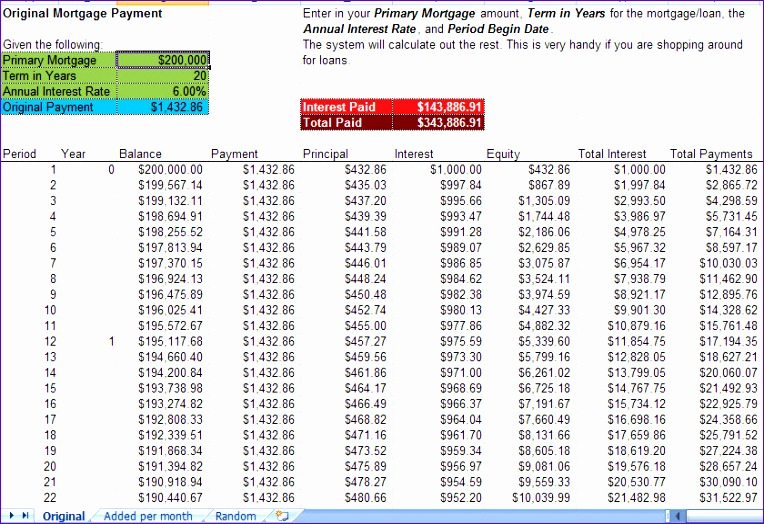 7 Loan Amortization Template Excel - ExcelTemplates - ExcelTemplates