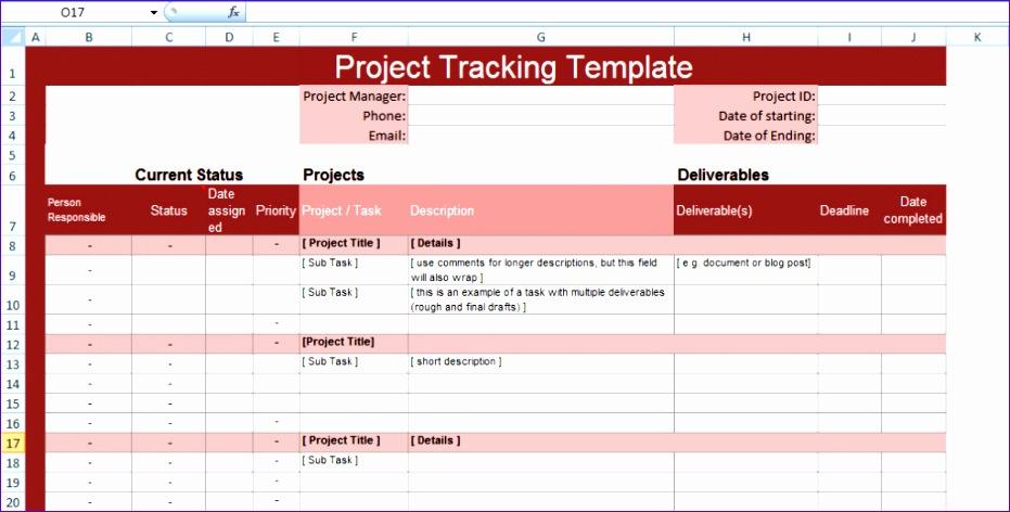 10 Microsoft Excel Gantt Chart Template Exceltemplates