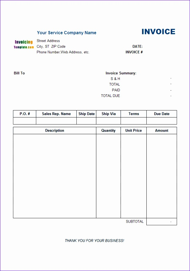 Mileage Excel Template Ksegi New Service Invoice with Payment Advice - payment advice template