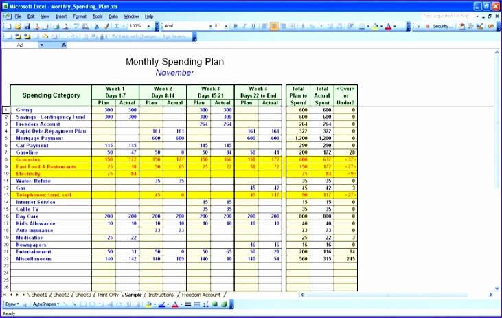 personal financial statement sample excel finance templates cdvkd