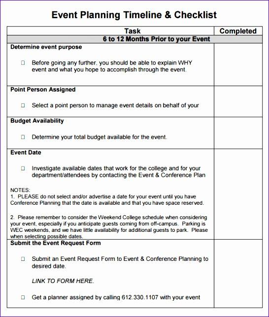 project planning checklist template - Jolivibramusic