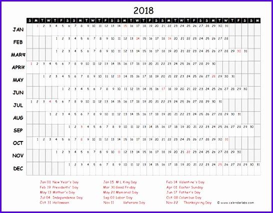 Sample Annual Calendar Template Excel Hfdhd Unique Year Calendar - sample annual calendar
