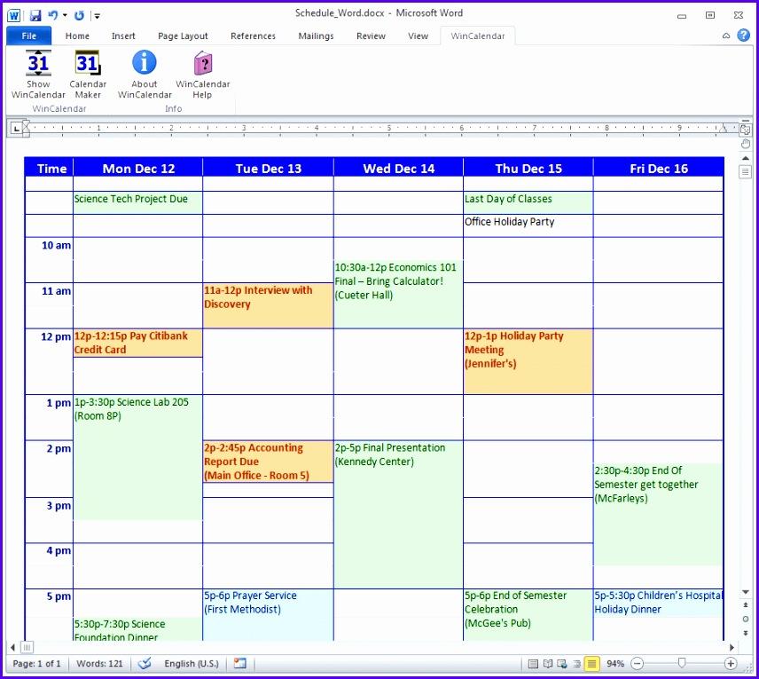 5 Excel 2007 Calendar Template - ExcelTemplates - ExcelTemplates - school calendar creator