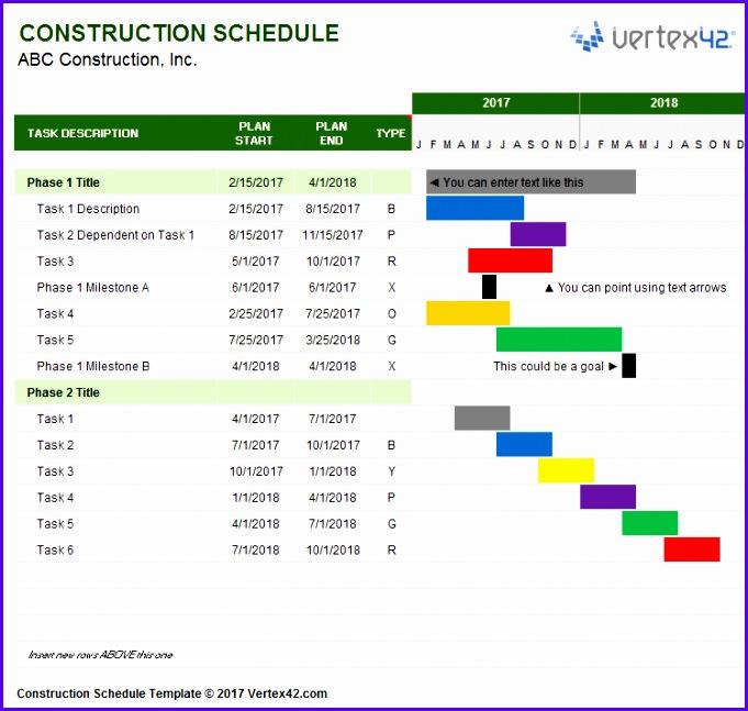 10 Excel Project Timeline Templates - ExcelTemplates - ExcelTemplates