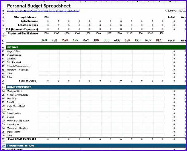 10 Expense Sheet Excel Template - ExcelTemplates - ExcelTemplates