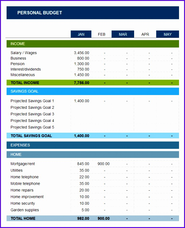 7 Free Budget Template Excel - ExcelTemplates - ExcelTemplates - budget templates excel free