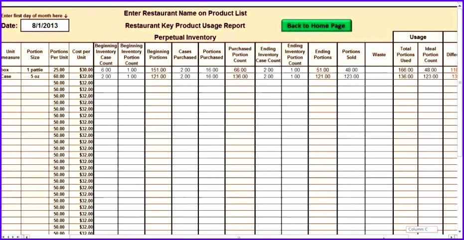 inventory spreadsheet template excel product tracking - Ozilalmanoof - inventory excel template free