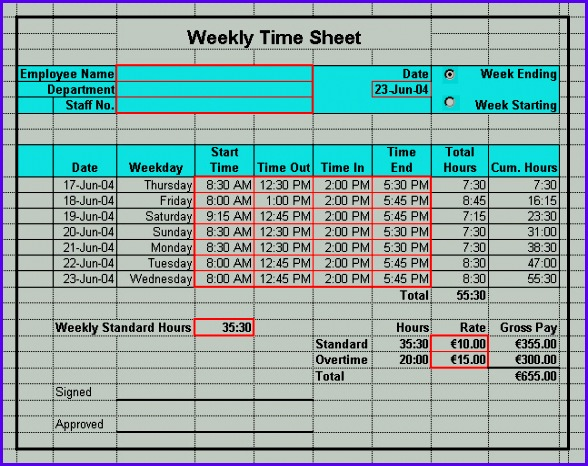 Sample Timesheet Excel Templates Bqcke Awesome Timesheet form - sample timesheet for hourly employees