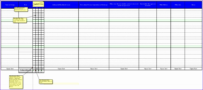 10 Stakeholder Analysis Template Excel - ExcelTemplates - ExcelTemplates