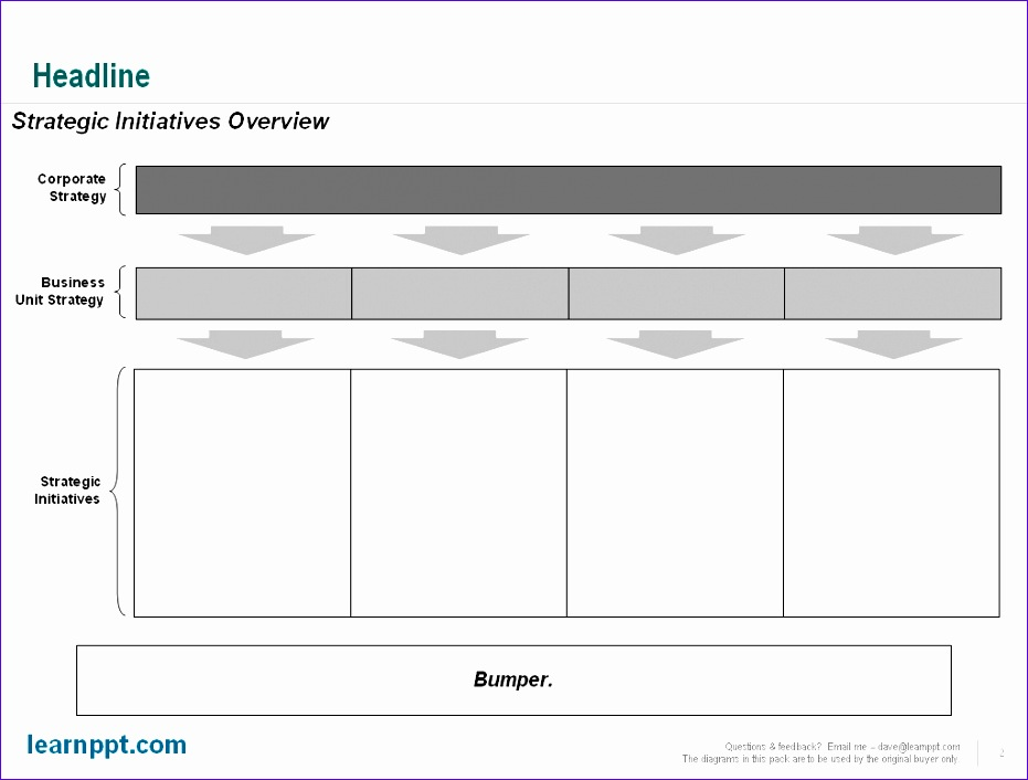 10 Strategic Plan Template Excel - ExcelTemplates - ExcelTemplates