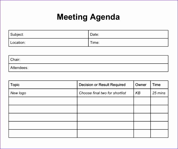 What are Excel Templates Fkzdz New Excel Meeting Agenda Template 2