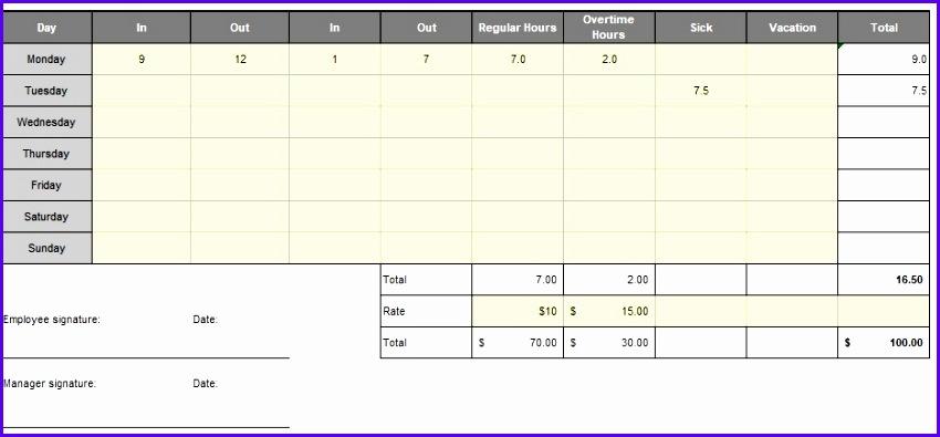 Contemporary Daily Attendance Sheet Template Elaboration - daily attendance template