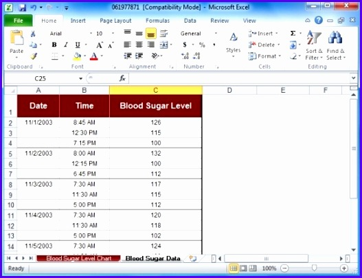 Example Blood Pressure Excel Template Fdkiy Best Of Blood Sugar Log - blood sugar log template
