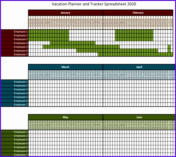 Example Excel Vacation Calendar Template G6ljd Best Of 5 Best