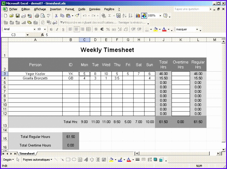 Examples Of Timesheets On Excel ophion