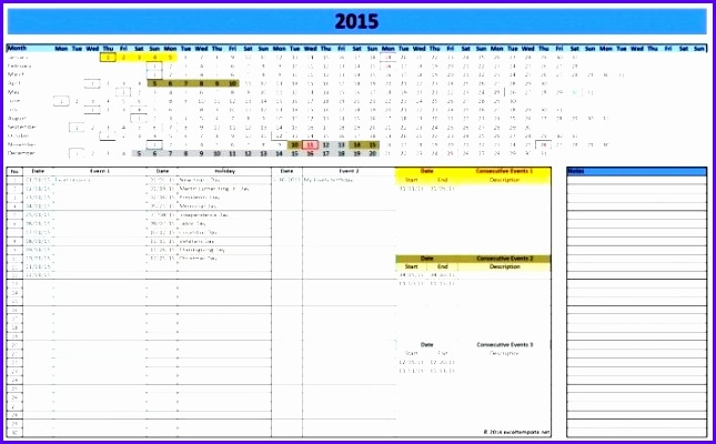 11 Weekly Work Schedule Template Excel - ExcelTemplates - ExcelTemplates